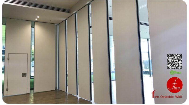 Finn Operable Wall By Finn Decor ผนังบานเลื่อนกั้นห้องประชุม